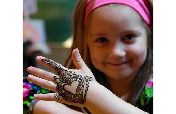 Kids Eid Mehndi Designs