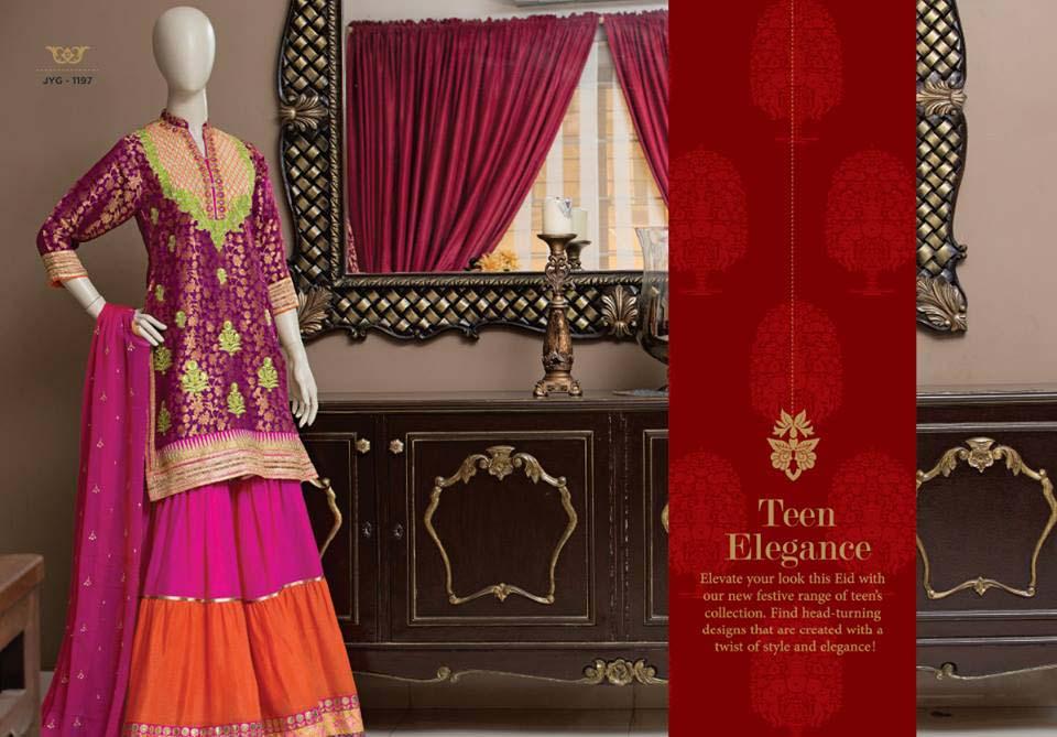 Almirah Latest Fancy Eid Suits collection