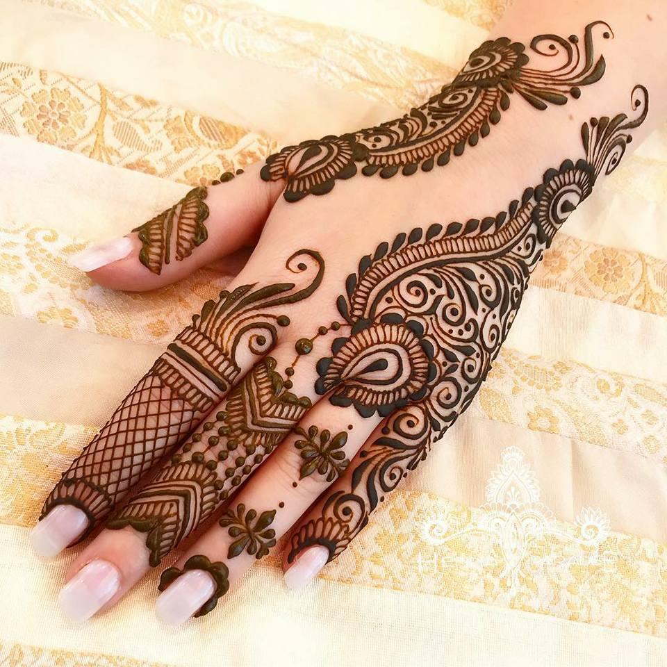 Pakistani Eid Mehndi Designs 2021