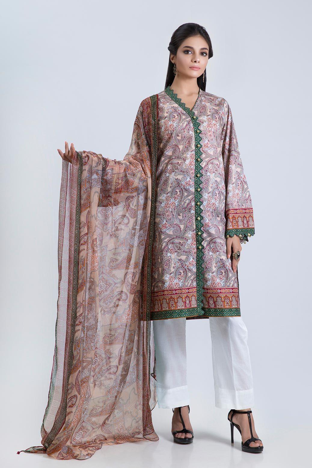 Bonanza Satrangi latest Eid Collection width=