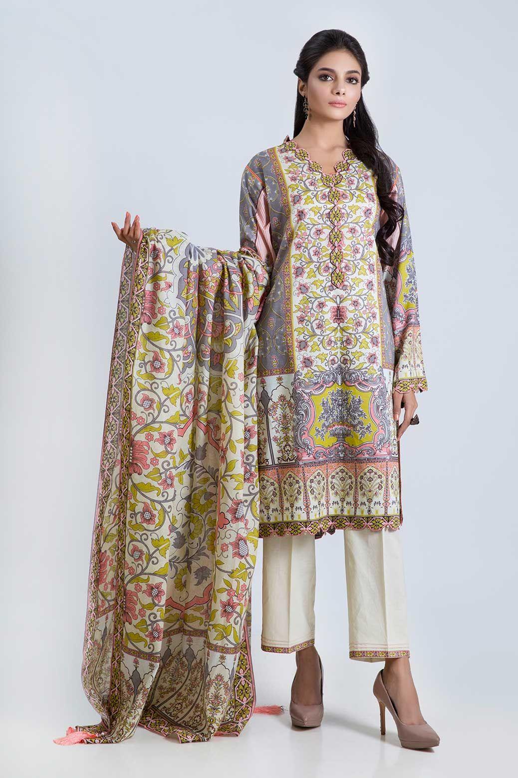 Latest Bonanza Satrangi Lawn Eid Collection