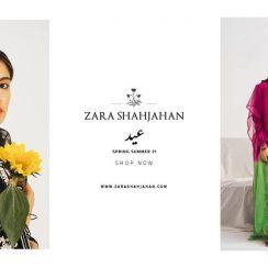 Latest Zara Shahjahan Eid Latest Collection