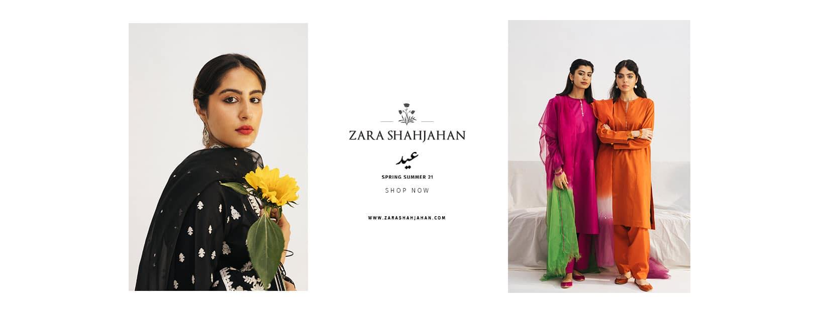 Latest Zara Shahjahan Eid Latest Collection