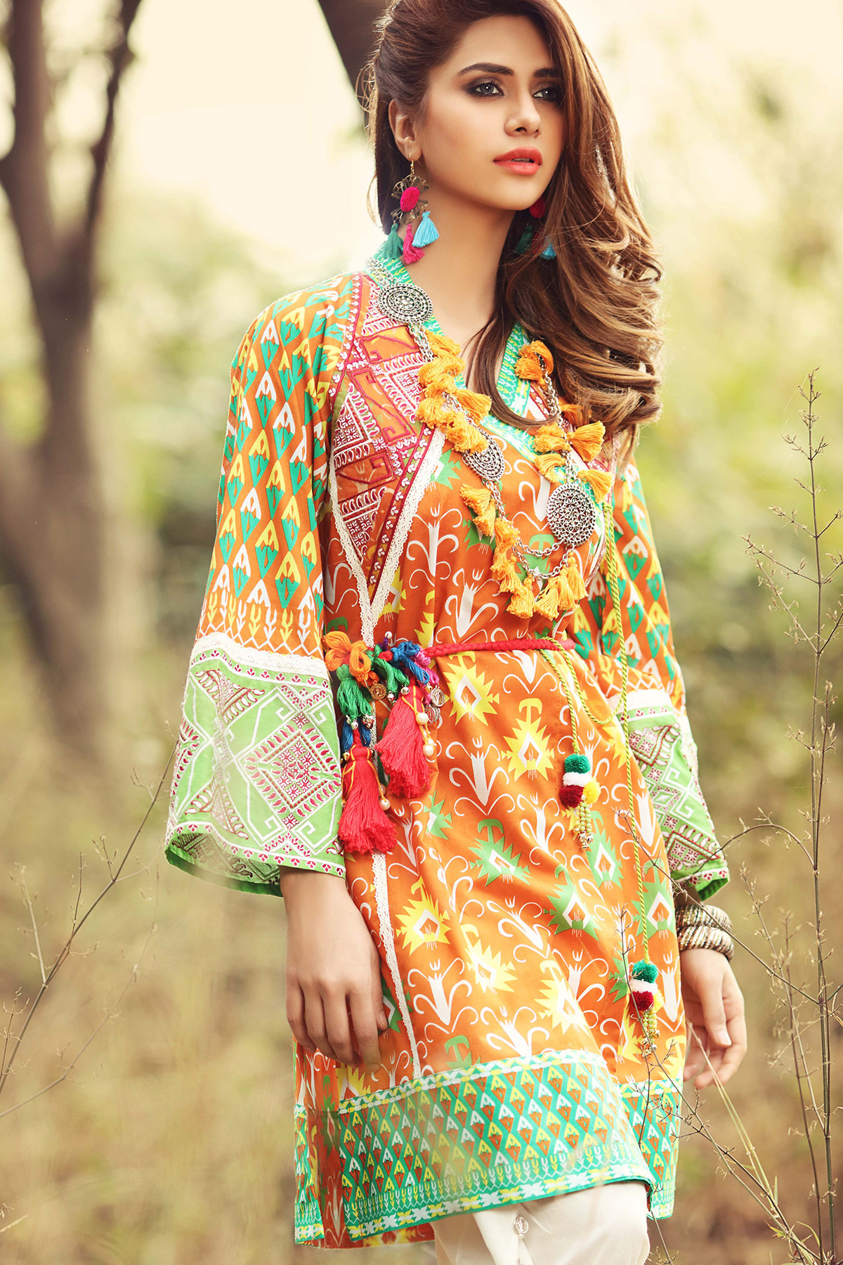Pakistani Eid Lawn Dresses 2021