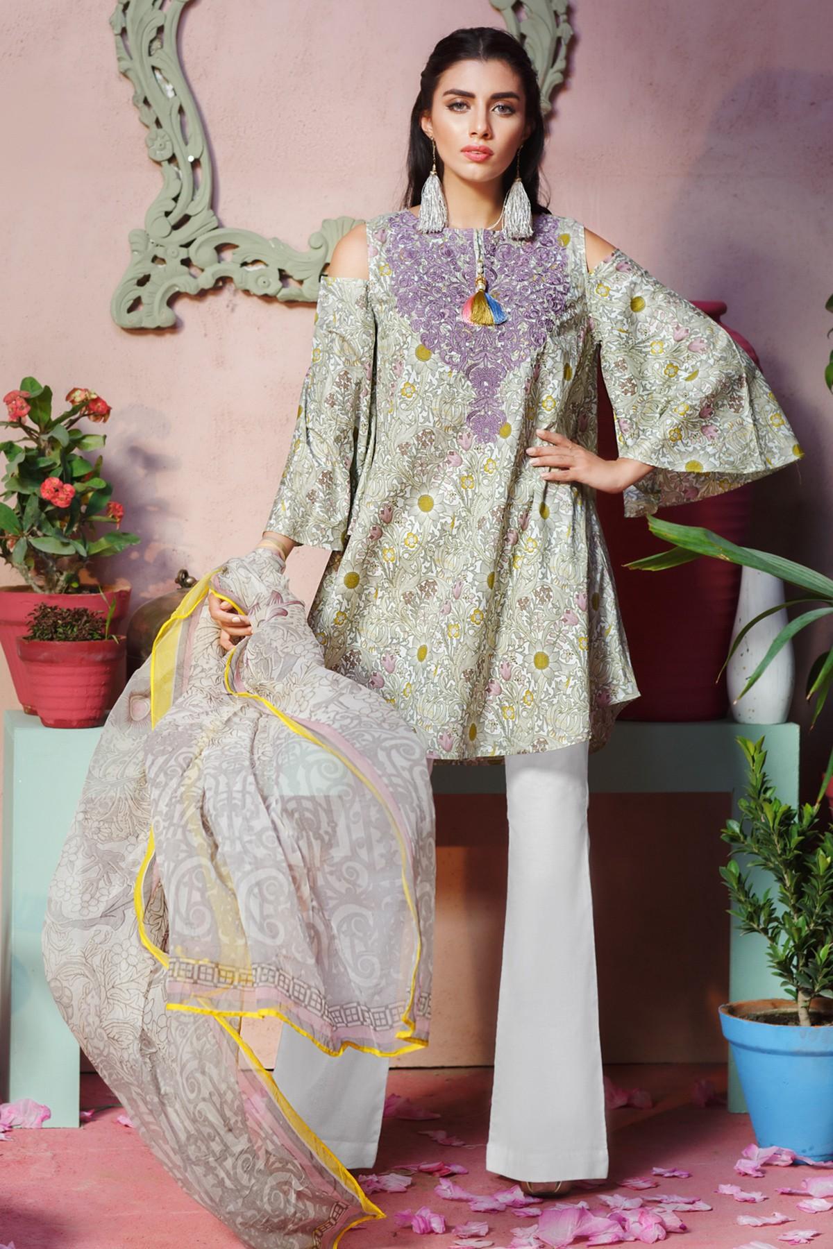 Eid Lawn Dresses 2021