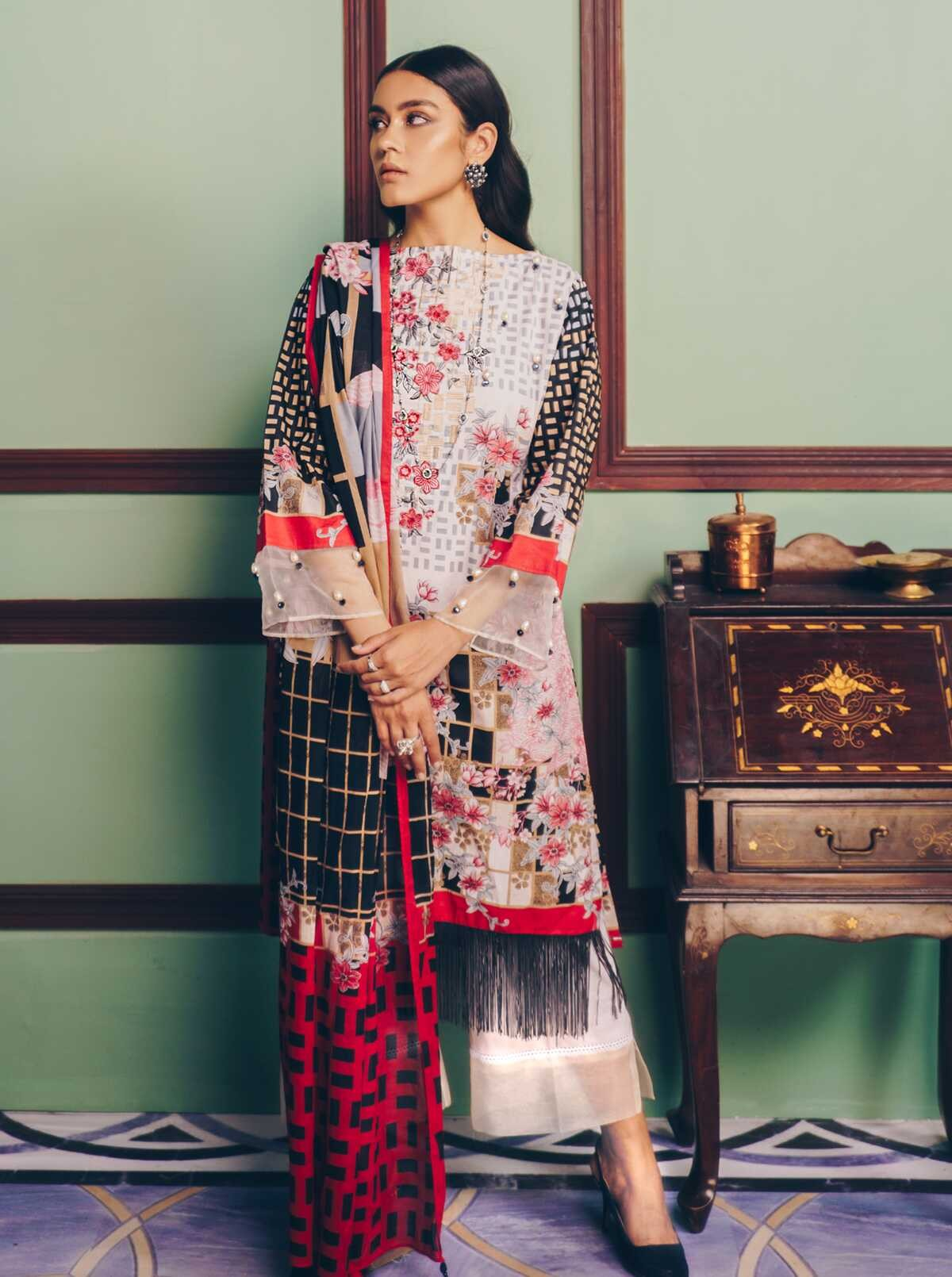 Latest Beech Tree Lawn Eid Collection