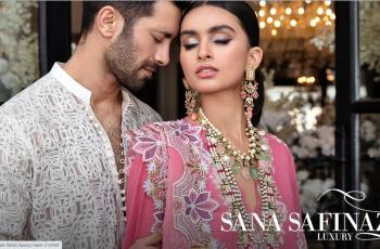 Latest Sana Safinaz Eid Collection