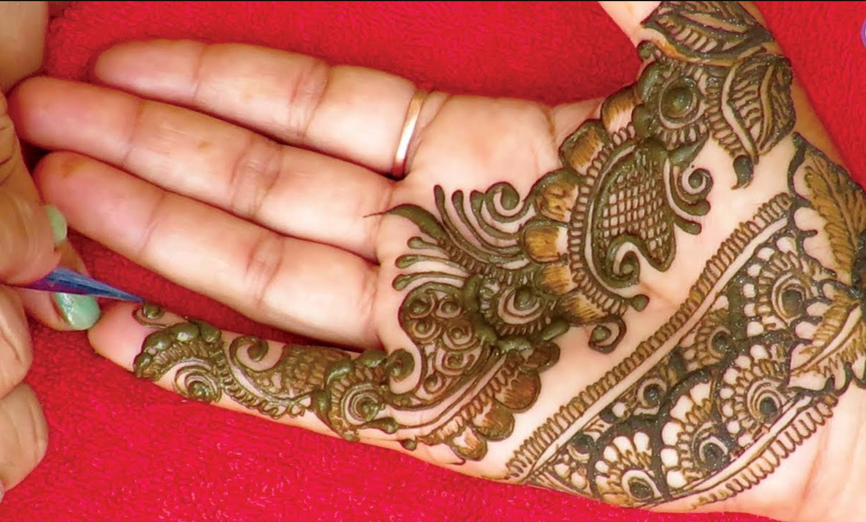 latest raksha bandhan design mehdni