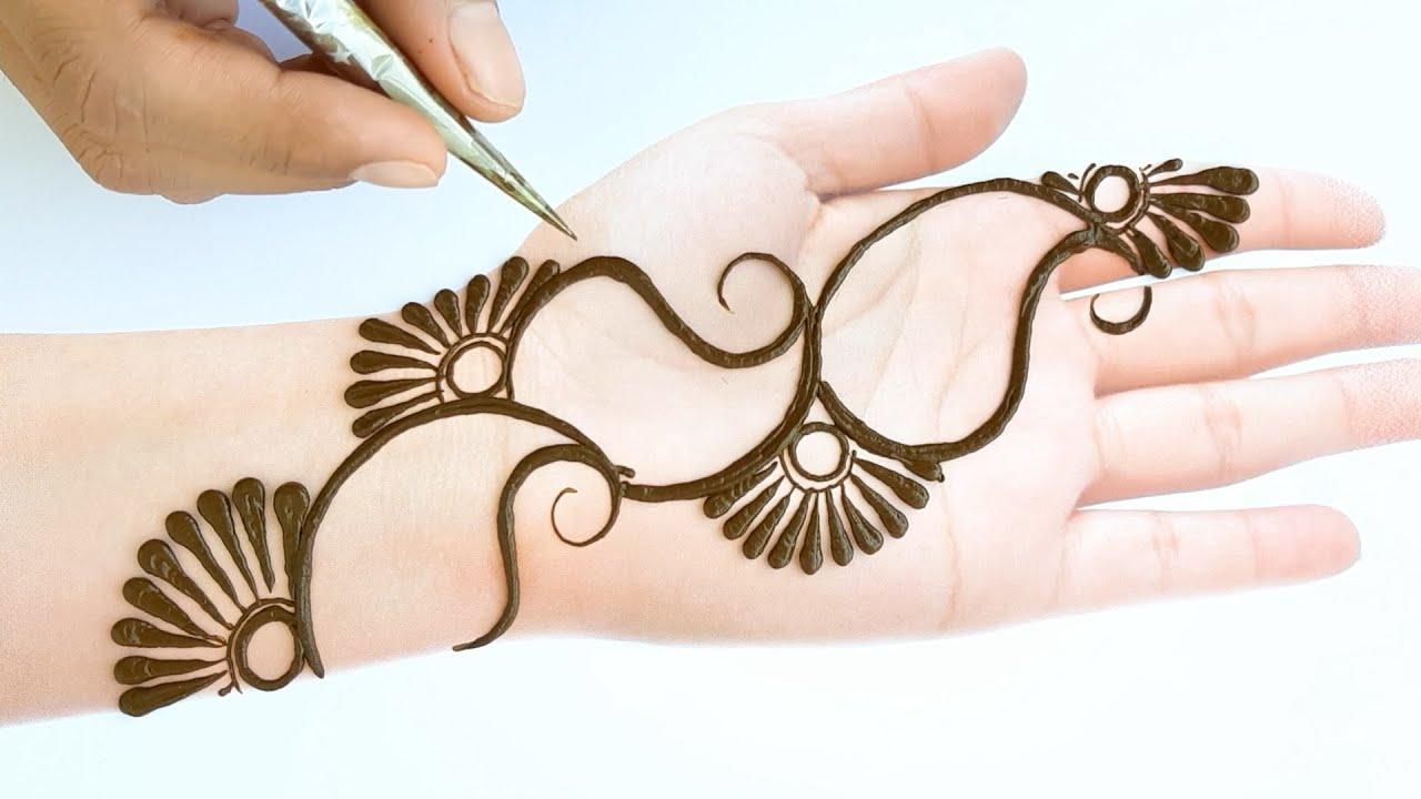 Front hand latest design for raksha bandhan