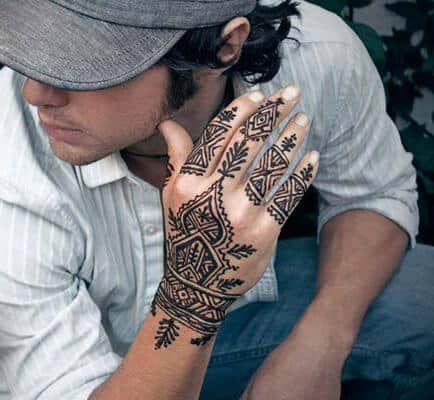 Henna Tatto Tribal Designs