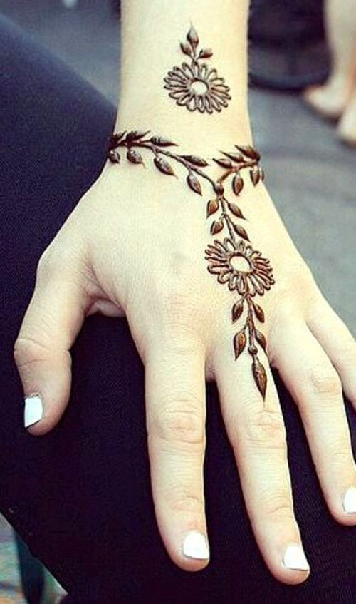 Henna Tattoo Latest Designs