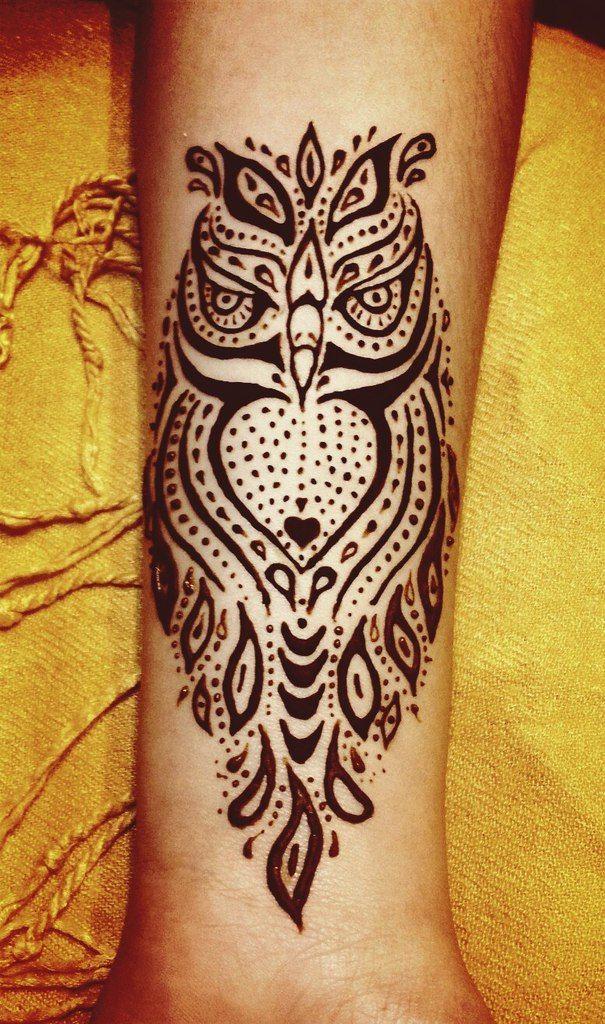 Henna animal design