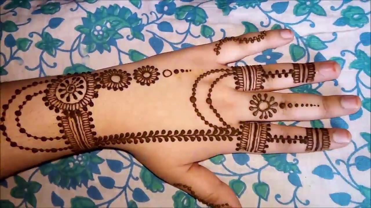 Latest Holi Unique Mehndi Designs