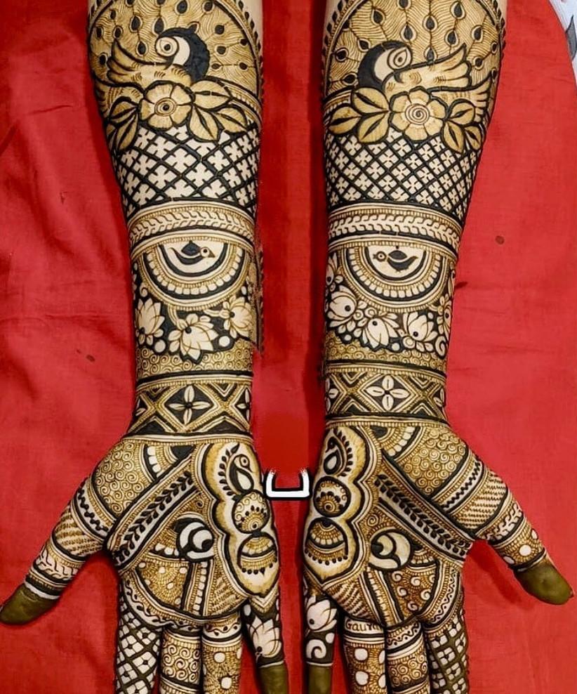 Latest design for kurwa chauth