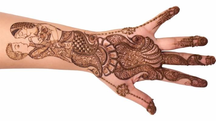Kurwa Chauth full hand design mehndi