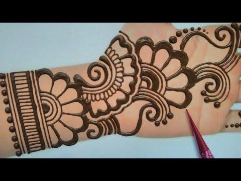 Mehndi Designs For Holi