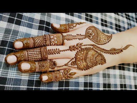 Mehndi Latest Designs For Holi