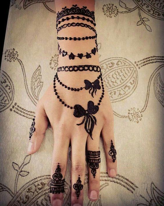 New Henna Simple Bracelet design