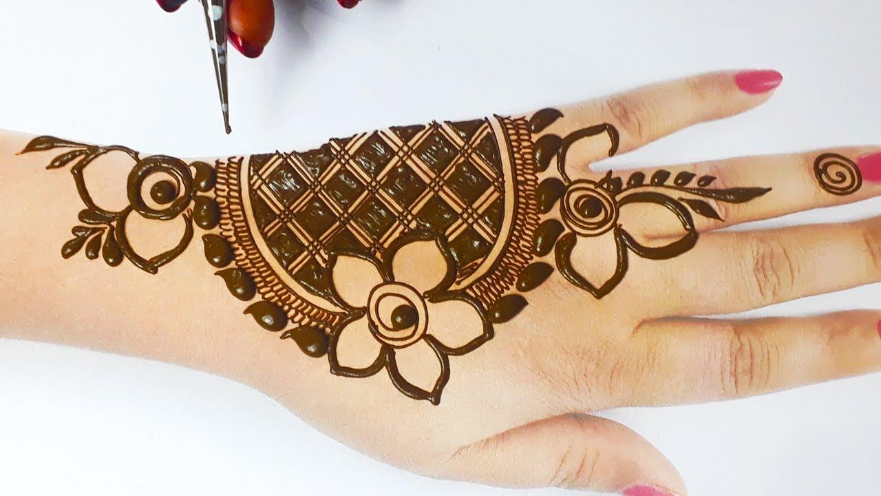 New Mehndi Designs For Holi
