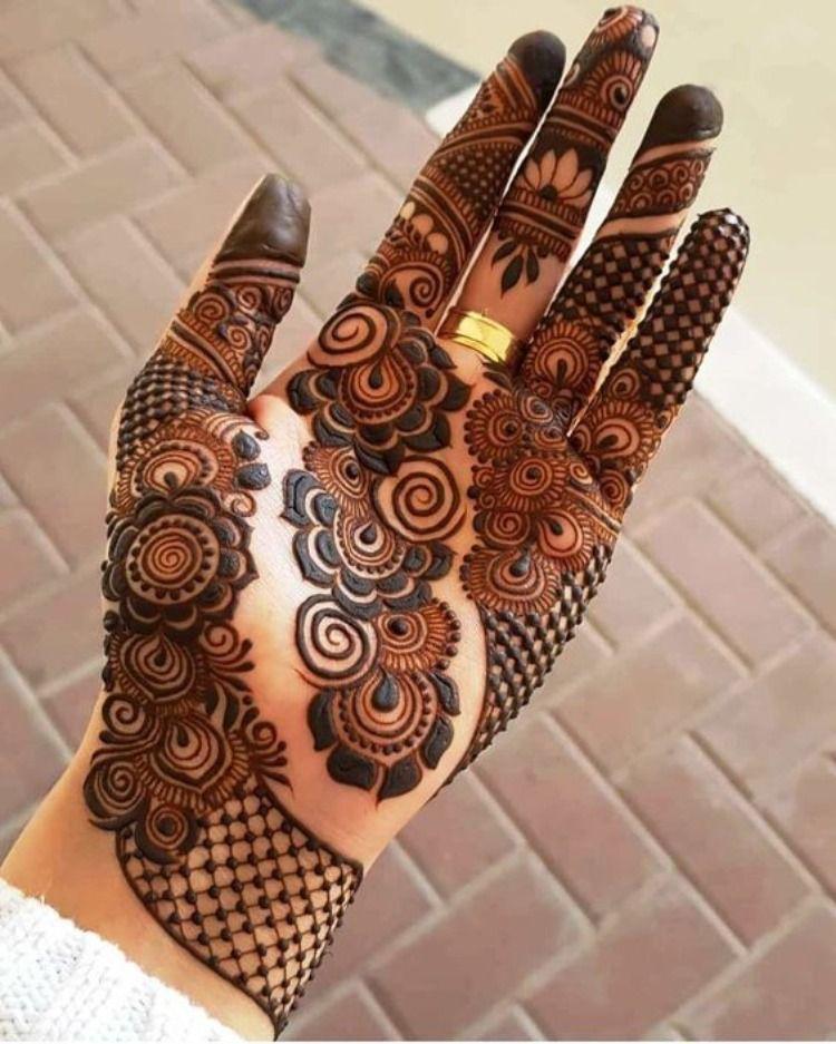 Raksha bandhan design for front hand