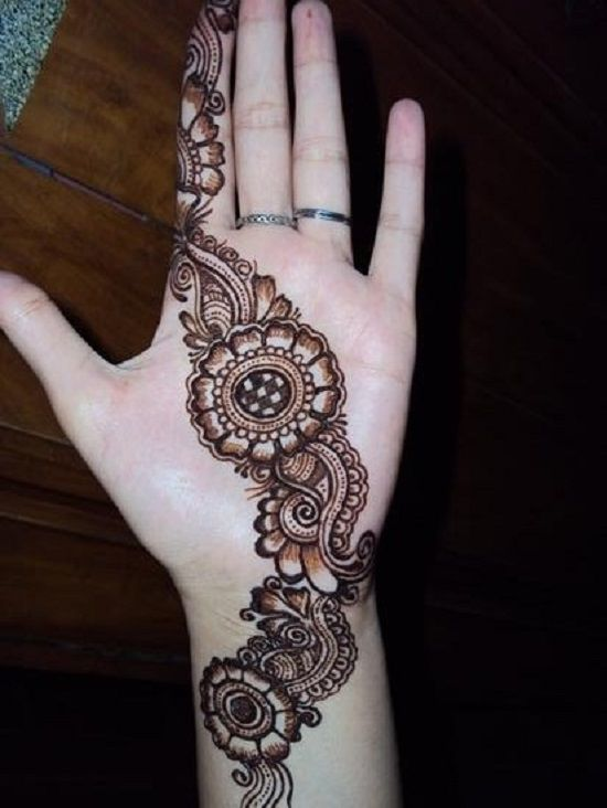 Raksha bandhan design front hand