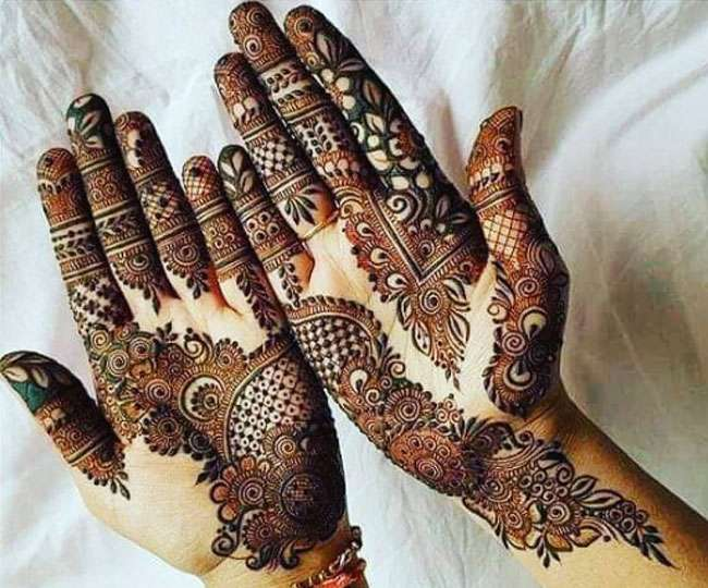 Raksha bandhan front hand design