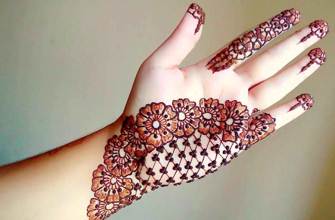 mehndi design for Holi