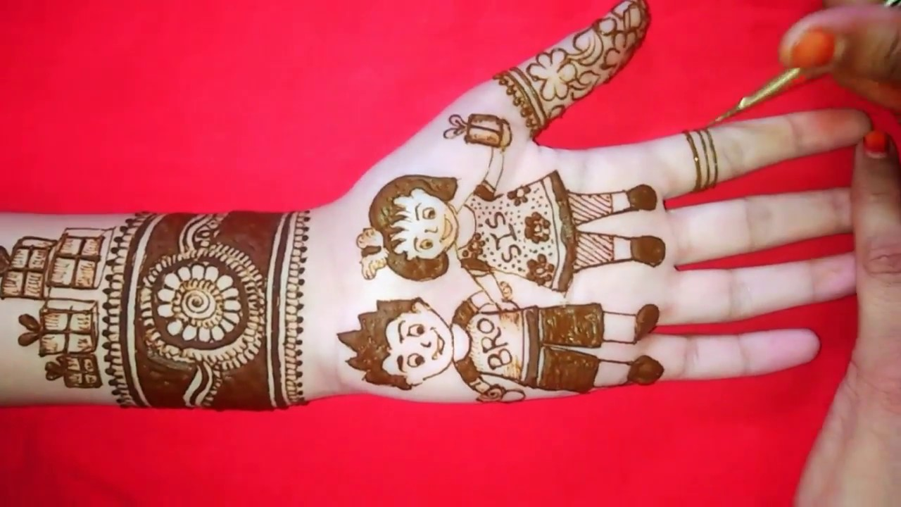 mehndi design rakhsha bandhan