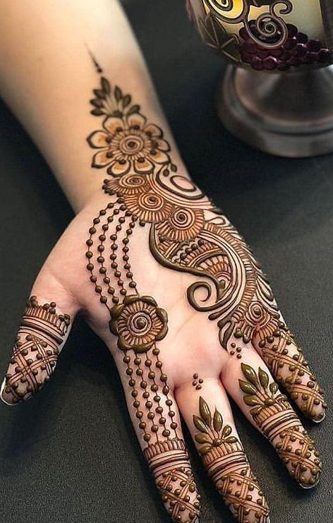 Arabic Mehndi Designs for Backhand