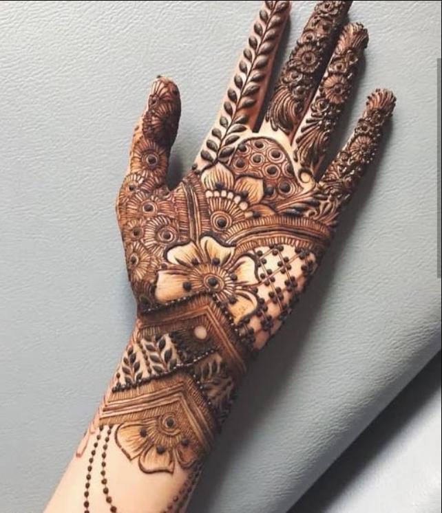 Attractive Indian Mehndi Designs For Hands