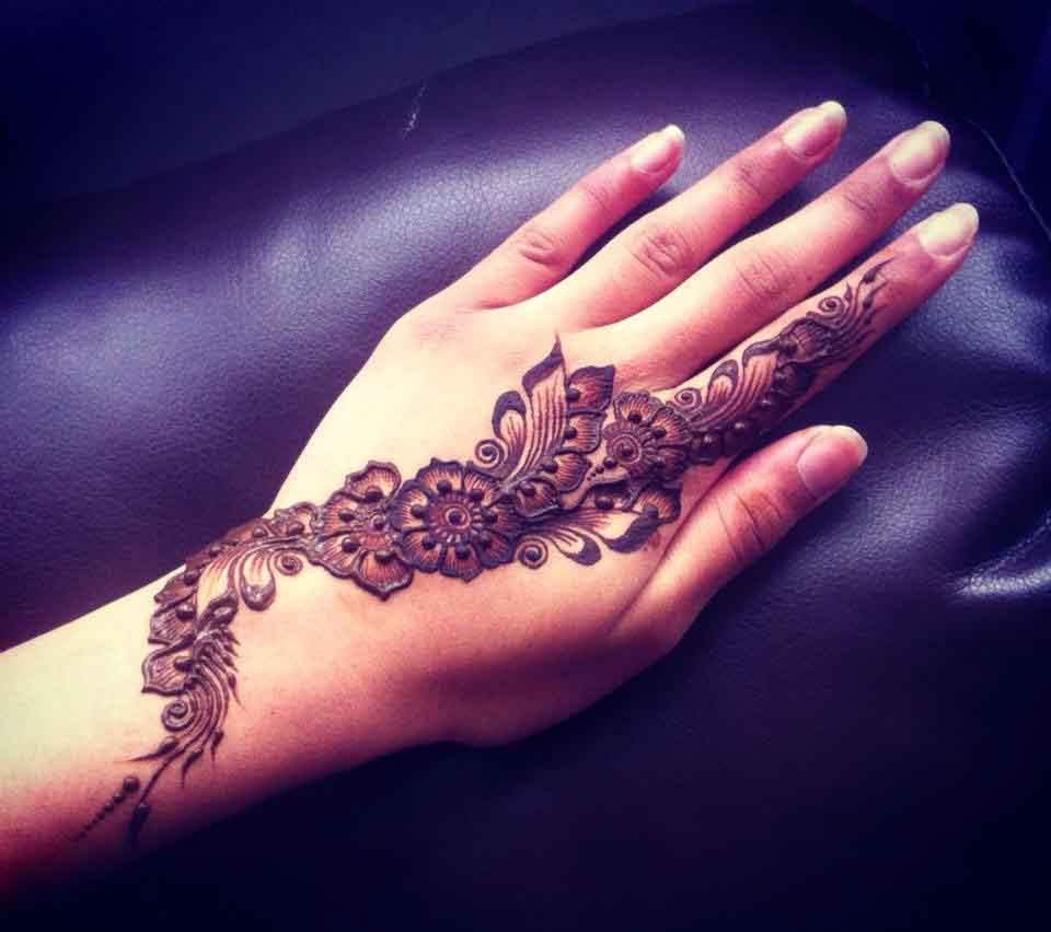 Attractive Indian Mehndi Designs For finger