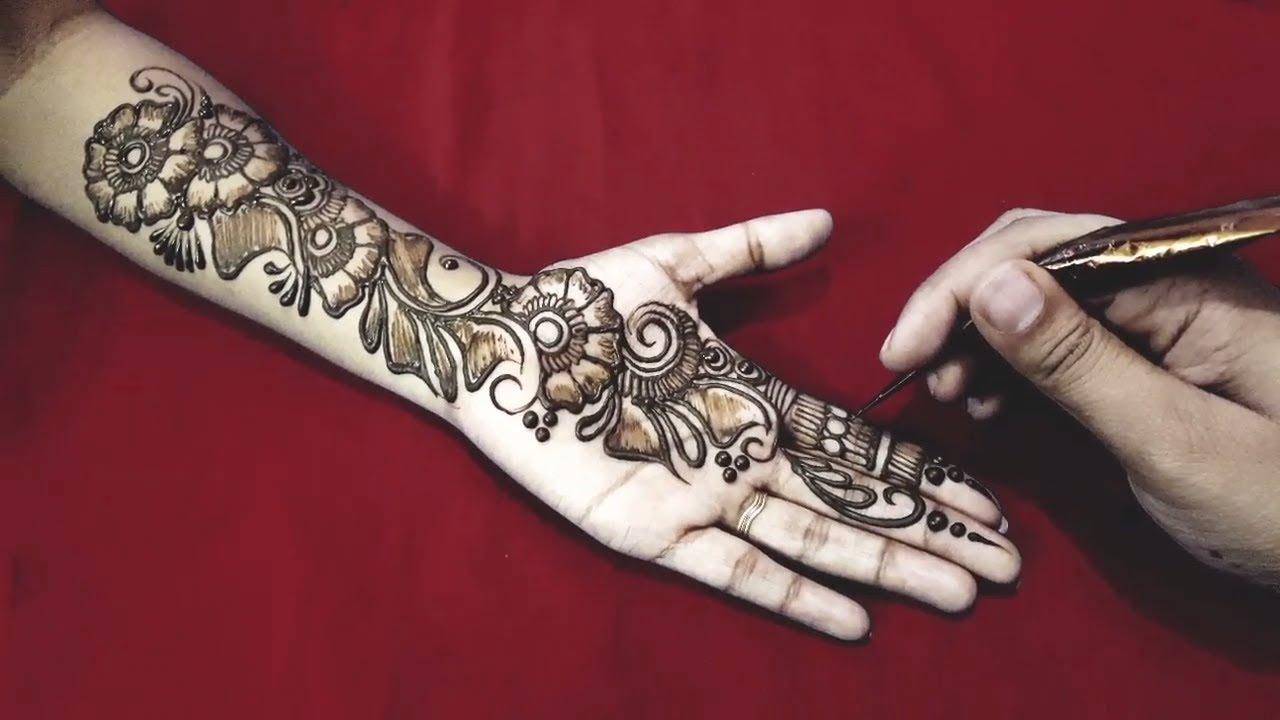Beautiful Arabic Mehndi Designs for hand