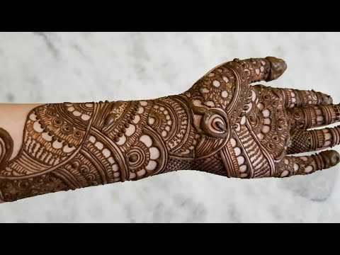 Beautiful Indian Latest Mehndi Designs For Hands