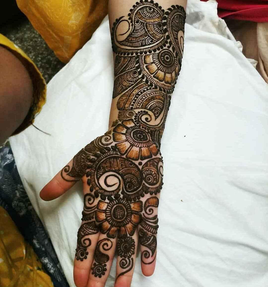 Cool Simple Bridal Mehndi Designs
