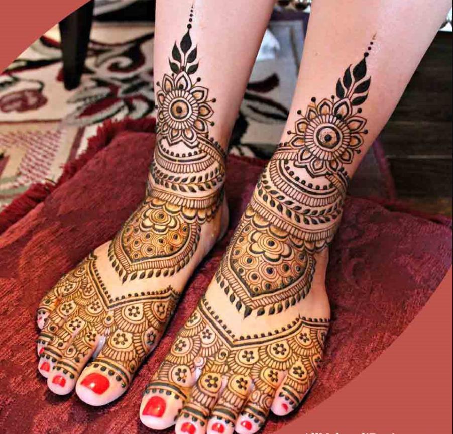 Beautiful latest Indian Mehndi Design