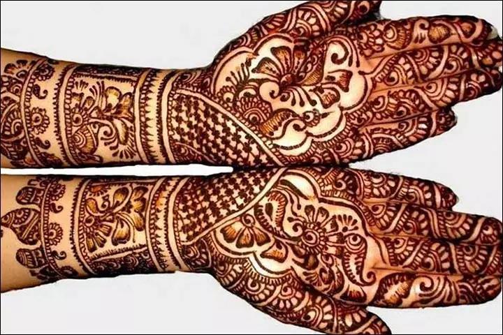 Beautiful marwari mehndi design