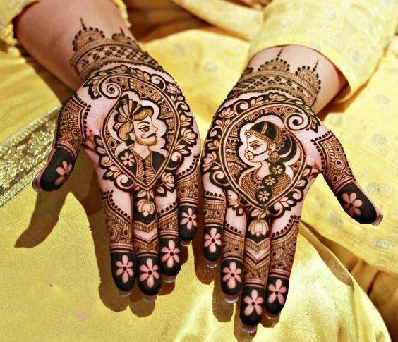 Beautiful rajasthani mehndi design
