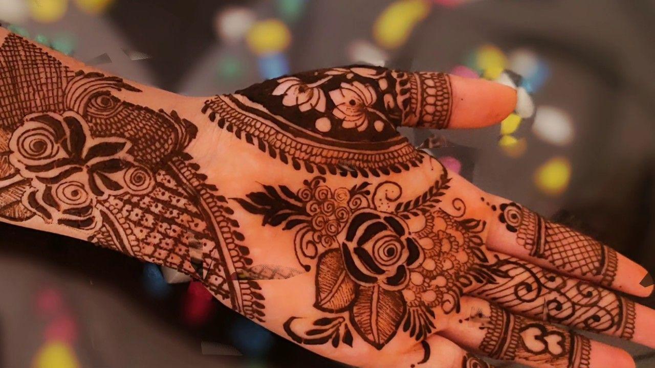 Bridal Front Foot mehndi