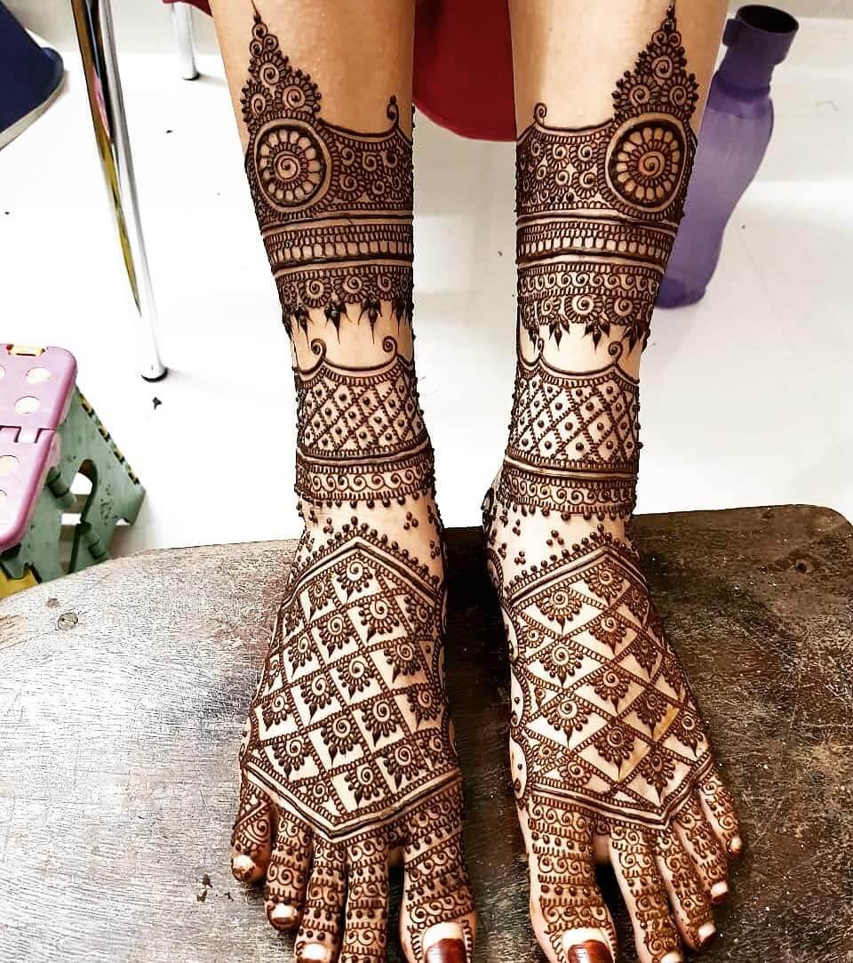 Bride Mehndi design