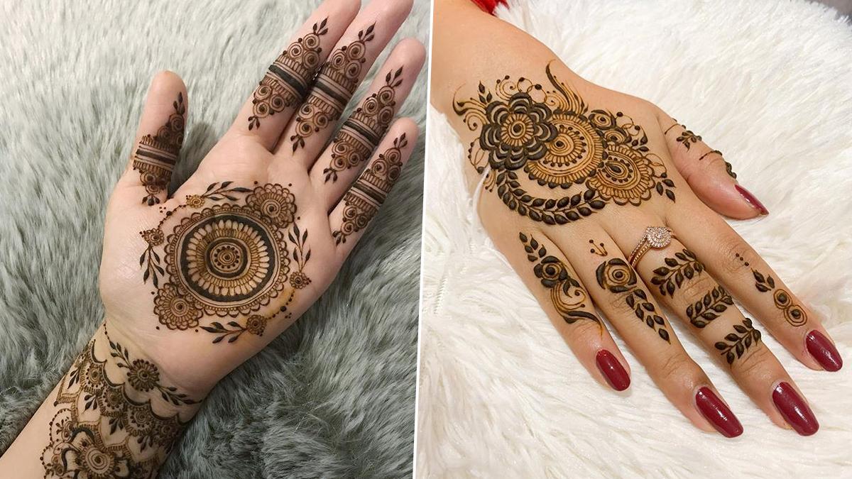 Diwali mehndi New design