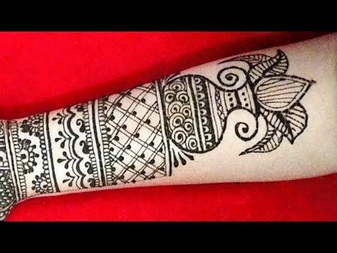 Diwali mehndi latest design