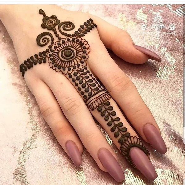 Easy Latest Mehndi Design