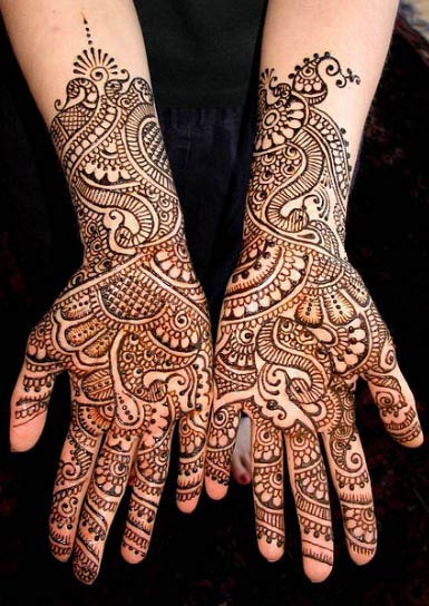 Elegant and Stylish marwari mehndi design