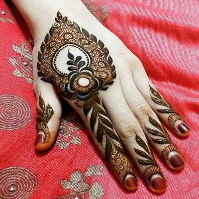 Finger Indian Mehndi Designs