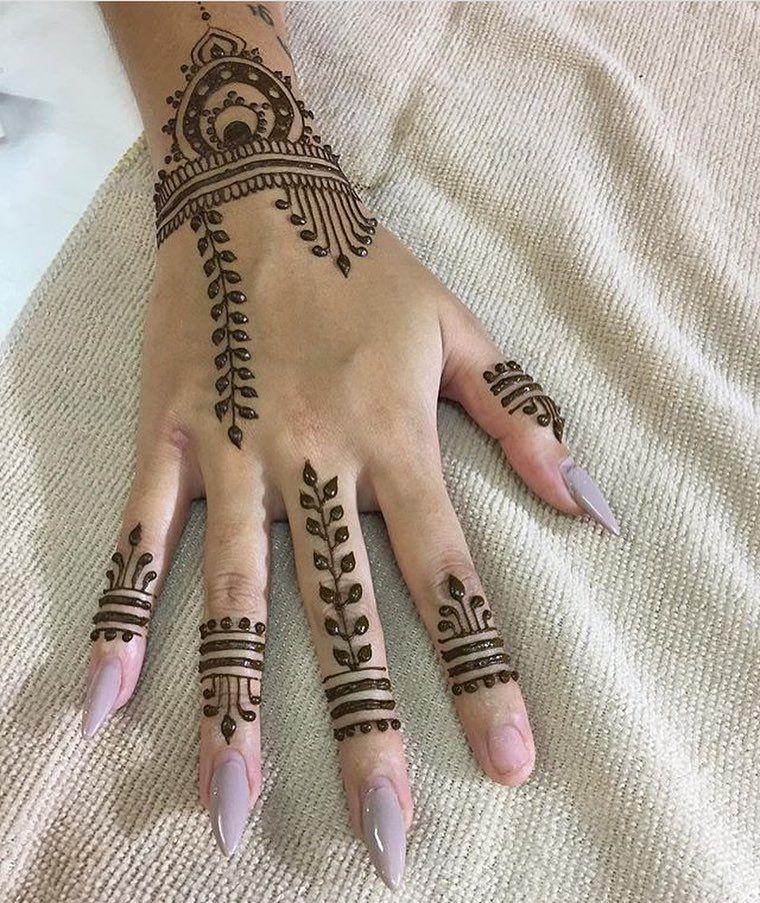 Finger Mehndi Designs New Style