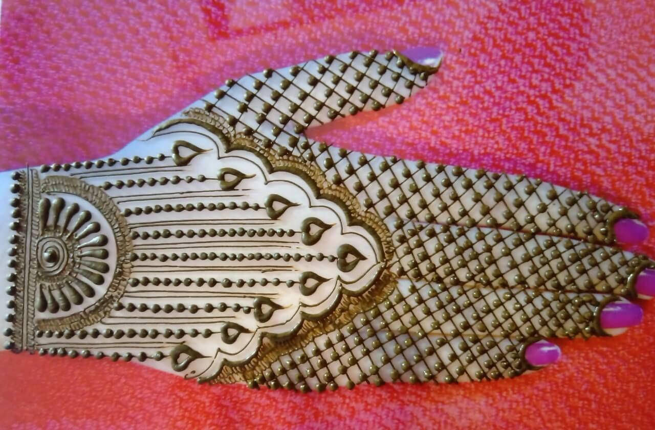 Indian Mehndi Designs backside