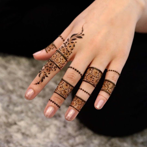 Indian Mehndi Desings For finger