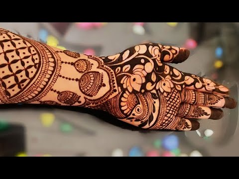 Indian Mehndi Latest Designs For Hands