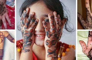 Kids Mehndi Designs