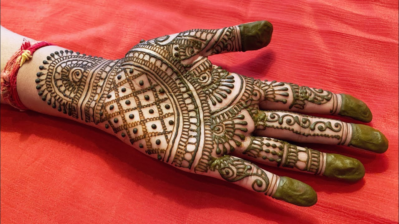 Latest Indian Mehndi Designs For Hands